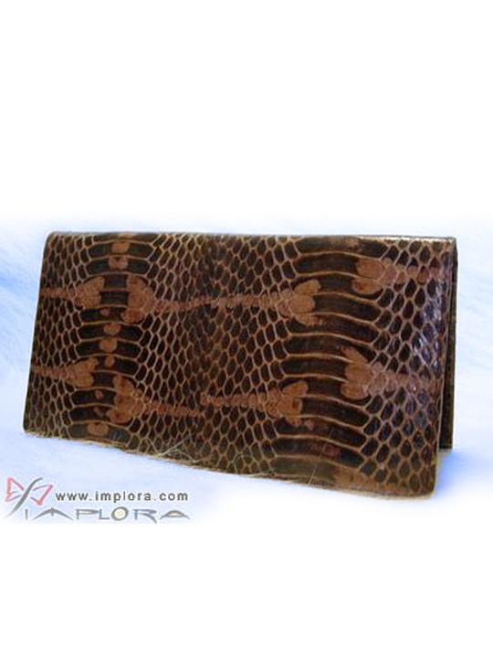 Implora Brown Mangrove Checkbook Wallet Belly