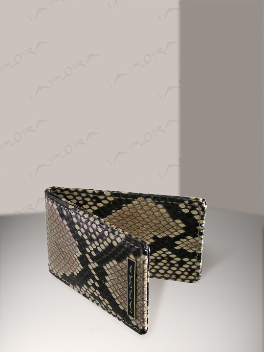 Implora Natural Python Magnetic Money Clip