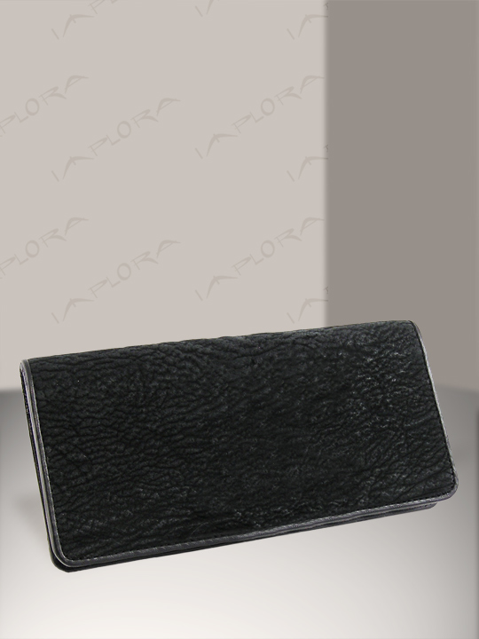 Implora Black Shark Checkbook Cover