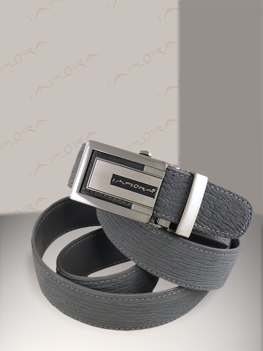 Shark Leathers Implora Gray Shark Skin Belt