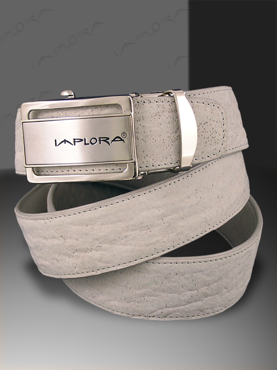 Shark Leathers Implora White Shark Skin Belt 1.5W
