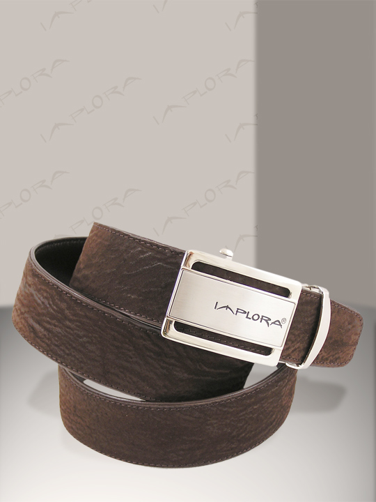 Shark Leathers Implora Brown Shark Skin Belt 1.5W