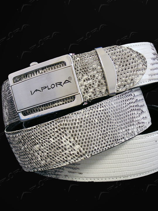 Implora Natural Salvator Monitor Lizard Belt 1.5W