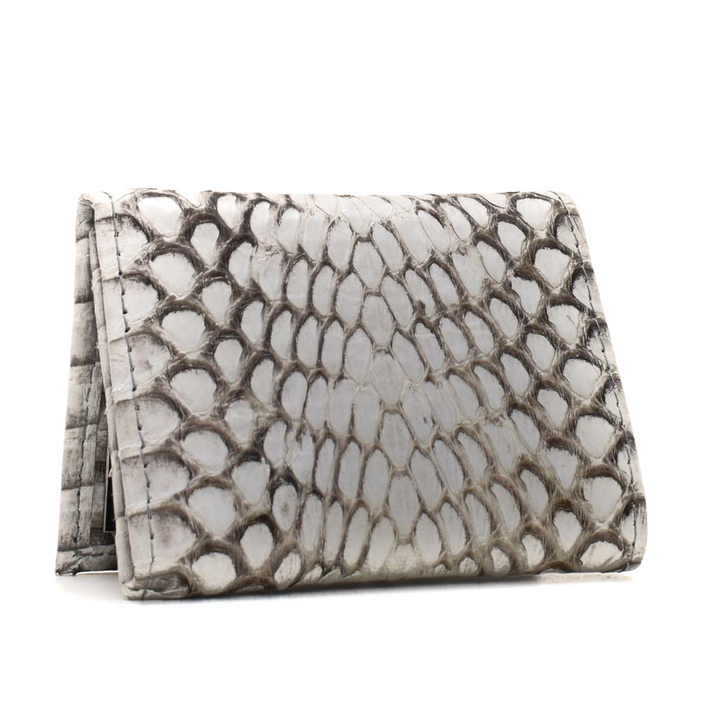 Implora Natural King Cobra Trifold Wallet