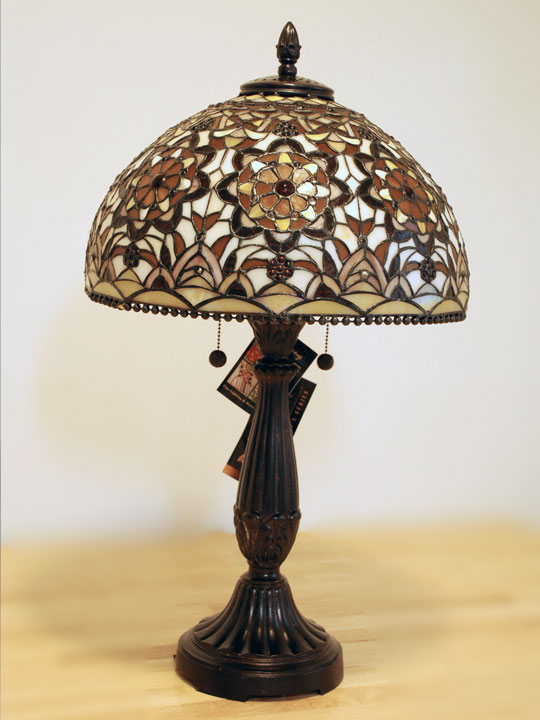 Others Dale Tiffany Golden Theresa Limited Edition Table Lamp