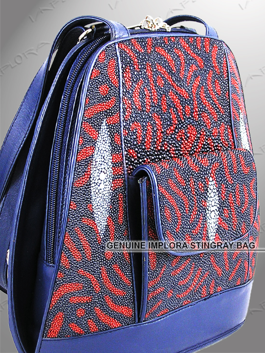 Stingray Shoulder Bag abstract design