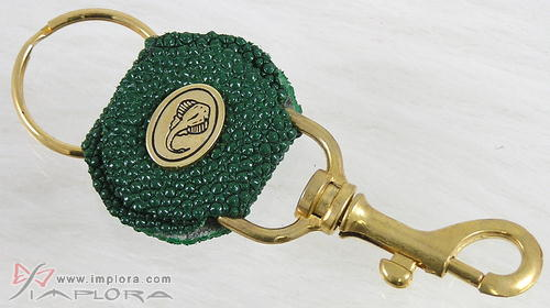 Green Stingray Key Chain