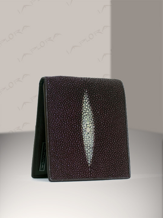 Free Shipping on Implora Burgundy Stingray Wallet w/ID