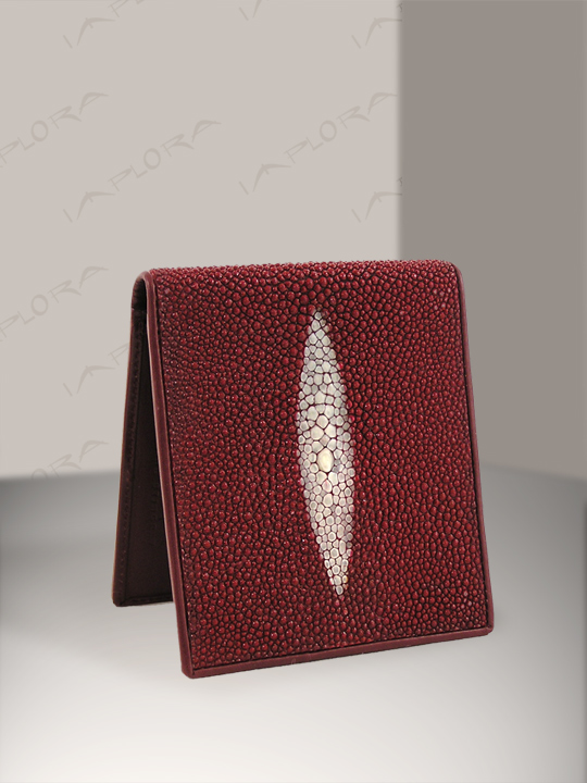 Free Shipping on Implora Red Stingray Wallet  w/ID