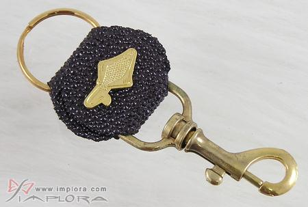 Free Shipping on Wine Color Stingray Key Chain
